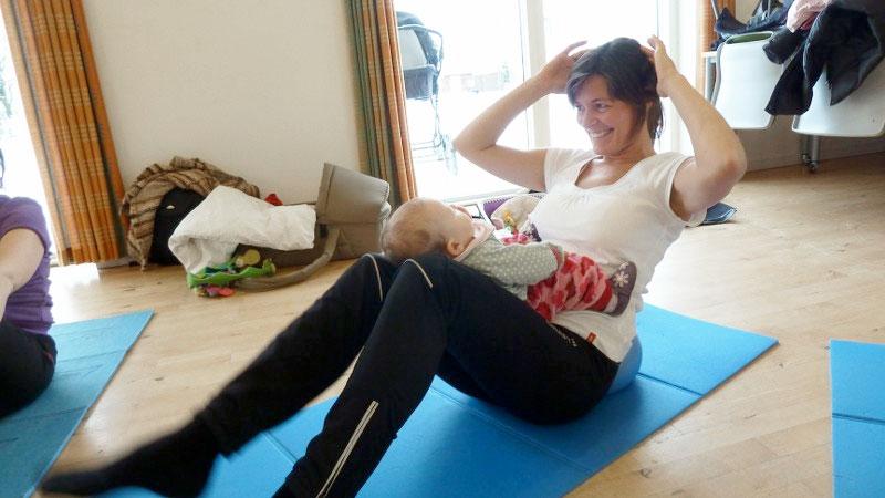 Efterfødsel gymnastik Jelling
