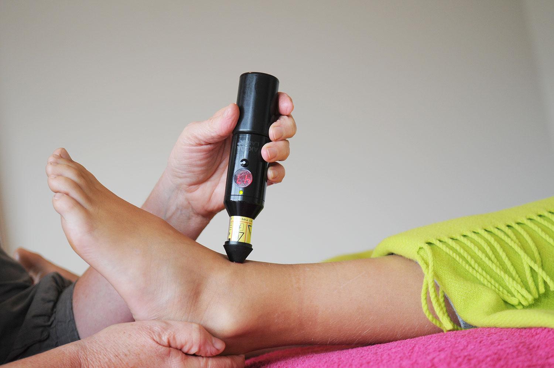 Laserterapi ved sportsskader