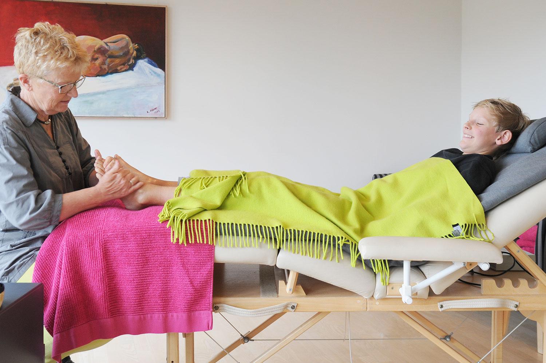 Zoneterapi i Jelling ved Vejle